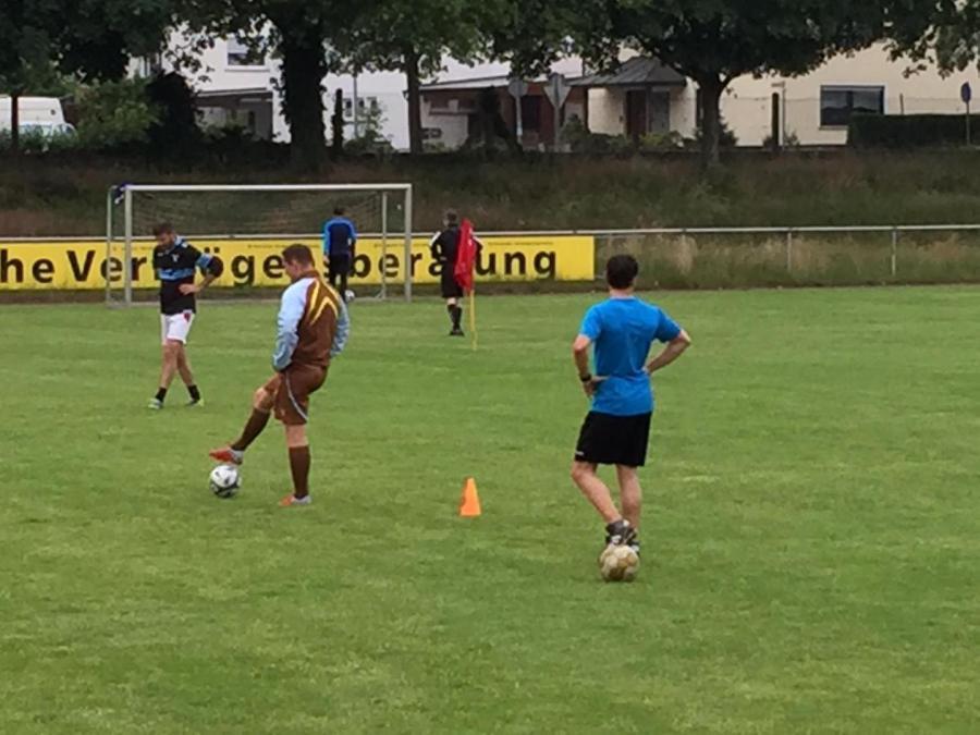 SV Olympia Rheinzabern Restart Training nach Hygienekonzept Coronabedingt