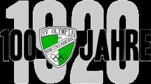 Logo SVO Rheinzabern 100 Jahre