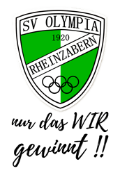 SV Olympia Rheinzabern - SVO_Wappen_mitSlogan