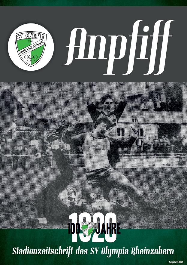 Die 1. Ausgabe unserer Stadionzeitschrift für das Jahr 2021 ist da!