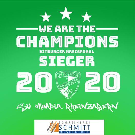 — Der SVO ist Kreispokalsieger 2020 —